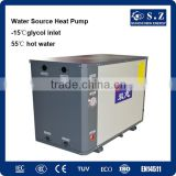Lake /River / sea water source heating room 10Kw/20Kw/25Kw through wall heat pump heater