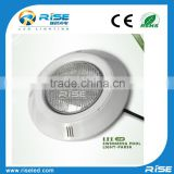 High power ABS material cover wall mounted type 100% waterproof led underwater light for swimming pool