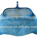 Economy Plastic Handle Swimming Pool Leaf Skimmer P1201, Long Wearing Pool and Spa Products