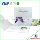 Customized Cheap Wholesale Korean Wedding Invitation Card