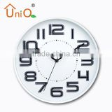 12inch tower shape lighted neon wall clock