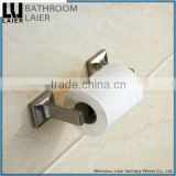 Contemporary Unique And Versatile Zinc Alloy Brush Nicked Bathroom Sanitary Items Wall Mounted Toilet Paper Holder