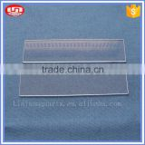 Fused transparent UV quartz glass plate