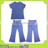 blue hospital Medical scrubs manufacturers