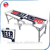 8 feet folding beer pong table,plastic folding beer pong table