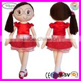 C271 Large Life Size Plush Fabric Doll Female Mannequin Boutique Collection Soft Female Mannequin