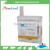 cheapest high quality catgut chromic absorbable suture with one needle for animal veterinary poultry
