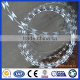 DM anping ss201 304 316 316L stainless steel razor barbed wire (manufacturer from China)