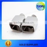 Customized ss304 universal muffler tip,universal exhaust muffler,auto muffler tip for sale