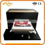WTop seller holesaler Price Digital Flatbed T-shirt Printer Eco Solvent Printing Machine