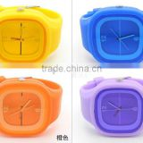 New top quality waterproof slim silicone bracelete wristband watch customers logo welcomed