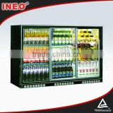Glass Door Back Bar Wine Refrigerator/Conventional Freezer And Refrigerator/Commercial Display Refrigerator