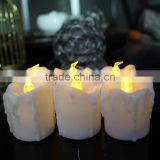 Flameless Candles, LED Tea Light Candles With Battery-Powered wedding Candles Decorations For Parties Events Tealight Candles