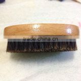 Beard And Hair Brush. Natural Bamboo And Wild Boar Bristles. An Ideal Male Tool