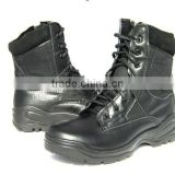 2015 Hot sale factory black military boot