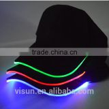 high quality unisex led flashing party baseball hat light up led cap
