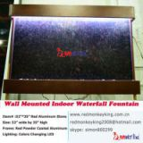 wall mounted  marble stone fountain led wall fountain wall decor wall water feature wall aquarium