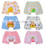 cartoon design summer short pants pp pants pure cotton baby training pants