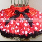 wholesale red dot adult christmas pettiskirts / tutu dress MP-0085