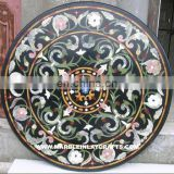 Popular Style Indoor Marble Stone Inlay Table Top