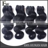 Brazilian 100% virgin real girl pussy hair cut from young girl body wave 8a grade remy hair extension human hair