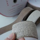 Silvered hook and loop conductive fastener tape for prevent the electronic information leakage safety protection articles