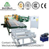 Automatic Woodworking Plywood Roller Conveyor Edge Trimming Cutting Saw