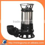 self priming sewage pump, centrifugal sewage pump, stainless steel submersible sewage pump