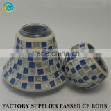 Mosaic shade candle glass candlestick manufacturer glass factory                                                                         Quality Choice                                                                     Supplier's Choice