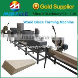 To Produce Solid wooden Block From Wood Pallet Block Machine