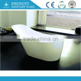 Oval Shape USA Acrylic Whirlpool Soaking Jets One Person Hot Bathtub clear acrylic simple antique tin bathtub tub