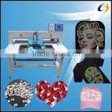 2014 NEW!!! automatic ultrasonic hot fix rhinestone setting machine