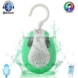 2015 Newly Unique Design Waterproof Speaker with FM Radio for home bathroom sports