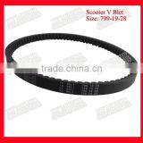 799*19*28 Motorcycle Drive Belt Scooter V Belts Gates Belts For Honda Elite 125 NHX125 CH125