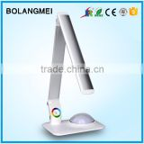 Magic top grade touch dimmer folding table lamp for hotel