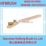 Brass wire brush for cleaning