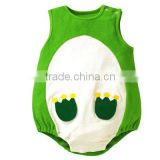 100%cotton summer newborn baby animal jumpsuits ,fashional infant frog rompers,wholesale boutique 0-18M kids one- piece clothes