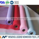 100% polyester non woven fresh flower wrapping paper rolls