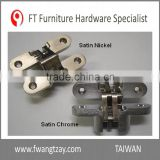 Made In Taiwan Best Selling	Best Quality 180 Degree	70 mm Zinc Alloy Heavy Duty Wood Furniture Door Soss Hinge