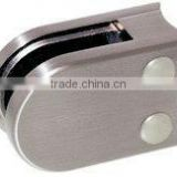 Glass clamp for balustrade/handrail clips
