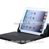 "Removable leather Bluetooth keyboard case for 9.7""-11.1"" tablet PC applicable for IOS,Android and Windows"