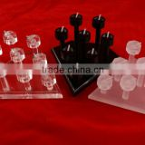 Acrylic Ring Column Stand Jewellery Ring Counter Window Display Stand