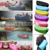Wholesale Portable Fast Inflatable Air Bag Lounger Sofa Picnic Sleeping Bed