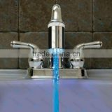 Wholesale Romantic Led Water Glow Temperature Changing Sensor Sink Faucet Light