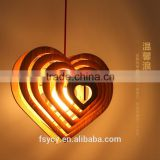 Nordic Simple style modern bamboo pendant lighting New Chinese style