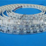 72 LEDs/m non-waterproof white warm white RGB chargeable led stripes attached 3M tape