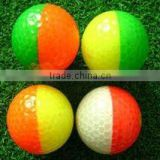 two color in dark glow golf ball FLTF18001