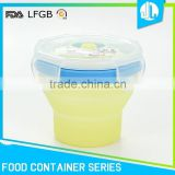 Competitive price safety material cheap silicon baby container                                                                         Quality Choice
