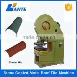 Trade assurance stone coated roof tile roll forming machine,stone coated steel roof machine                                                                         Quality Choice