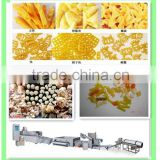 Automatic 3d and 2d snack pellet pallet making machine fryums food extruder processing line